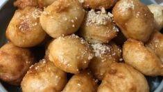 Συνταγή για αφράτους παραδοσιακούς λουκουμάδες με μέλι! Pretzel Bites, Bread, Food, Brot, Essen, Baking, Meals, Breads, Buns