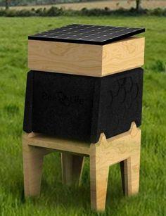 Hi-Tech Bienenstock CoCoon von BeeLife die zukunft der bienenzucht