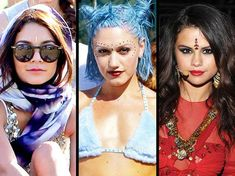 Three celebrity women who have created a lot of controversy for wearing a bindi. The bindi has also become popular outside South Asia in recent years, and it is often worn as a fashion statement by celebrities and others. Some men and women within traditional bindi-wearing cultures have criticized this act as one of cultural appropriation; but they probably fail to realize that in Western showbiz and consumerist cultures it's all about the money - and unfortunately morals or traditions tend…