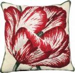 Needlepoint Large Tulip Pillow