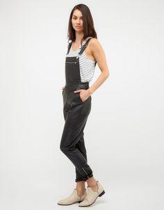 Saxon Leather Overalls