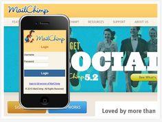 MailChimp example