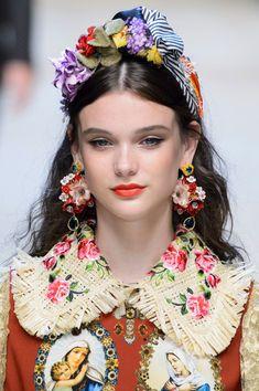 Sara Dijkink for Dolce & Gabbana SS17