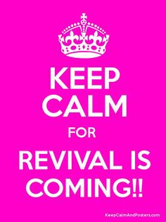 Hysterical when you have exactly 30 outfits to get ready --- what about keep calm campmeeting is coming?!? LOL