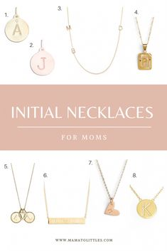 A gold initial necklace is a beautiful and sentimental choice for mother's day, push present, or other special occasion. Here are some of my favorite finds, including the Maya Brenner necklace I own and wear everyday with my sons' initials. Kids Necklace, Ruby Necklace, Stone Necklace, Simple Necklace, Push Presents, Presents For Mom, Initial Necklace Gold, Diamond Solitaire Necklace, Initial Jewelry