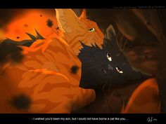"Fireheart and Yellowfang ""A son like you"" - Warrior Cats"