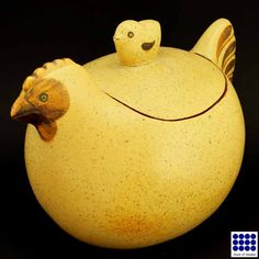 Large Hen Bowl with Chicken Lid by Lisa Larson