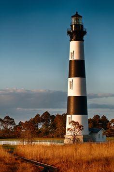 Faro de Isla de Bodie - Carolina del Norte