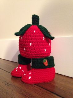 Strawberry booties forever