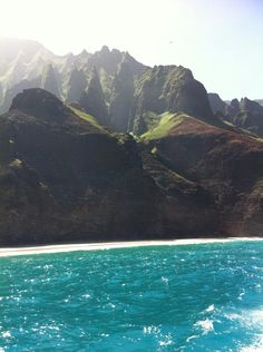 Trip to Hawaii - Islands from the sea