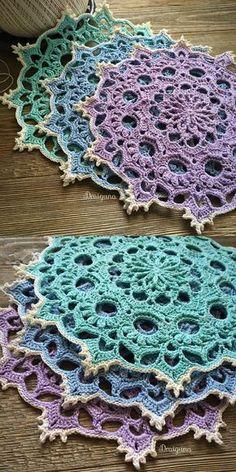 Wispweave Doily Free Crochet Pattern