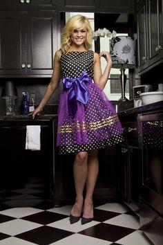 Haute Hostess Aprons by Elizabeth Scokin   Give Me Sugar - Justine