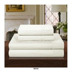 4-Piece Set: Vibrant 100% Cotton 1000 Thread Count Sheets - Assorted Colors at 67% Savings off Retail!