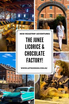Junee Chocolate & Licorice Factory, NSW   Let's go MumLet's go Mum Chocolate Shop, Chocolate Factory, Back Road, Bondi Beach, Old Building, Blue Mountain, Outdoor Areas, South Wales, Australia Travel