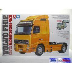 Caminhão Volvo FH12 Globetrotter 420 Tamiya - Jahy Racing Hobbies - A sua loja de hobbymodelismo aberta 24h! Tamiya Kyosho Traxxas HPI Mugen Futaba Yokomo Axial Yeah Racing
