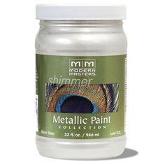 Metallic Paint - Pearl White 32oz picture