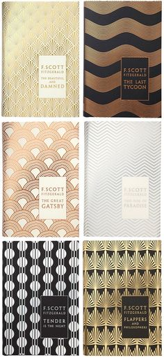 Sharnee: Coralie Bickford-Smith's art deco book jackets.