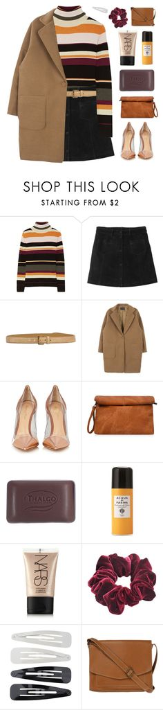 """professional"" by amazing-abby ❤ liked on Polyvore featuring Paul & Joe, Monki, Miu Miu, Gianvito Rossi, Thalgo, Acqua di Parma, NARS Cosmetics, Wild Pair, Forever 21 and Fat Face"