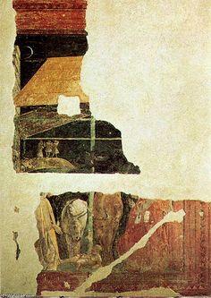 'Adorazione del bambino1', huile de Paolo Uccello (1397-1475, Italy)