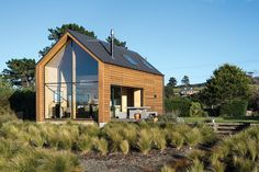 Taieri Bach by Regan Johnston of Mason and Wales won the Residential Architectural Excellence category and was named joint supreme winner at the 2014 NZ Wood Resene Timber Design Awards.