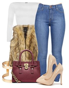 9 29 15 by miizz-starburst on Polyvore featuring WearAll, Unreal Fur, Shoe Republic LA, Michael Kors and H&M