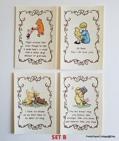 Budgeting Finances Discover Winnie the Pooh Quotes Prints for Framing 2 Different Sets Baby Shower Birthday Nursery Decoration or Inches See All Options Winnie The Pooh Nursery, Vintage Winnie The Pooh, Winnie The Pooh Quotes, Winnie The Pooh Friends, Baby Shower Card Sayings, Baby Shower Quotes, Baby Shower Cards, Kindergarten, Shower Bebe