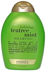 Organix Shampoo and conditioner. Really liking this product. It smells amazing too.