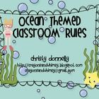 These rules are perfect for any ocean or beach themed classroom!FREE!!!  -Listen to the Teacher  -Make Good Choices  -Follow Directio...