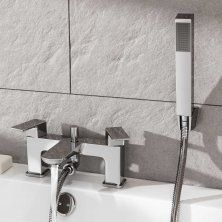Atlin Bath Shower Mixer With Handheld Shower Head