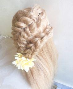 Pull through braids