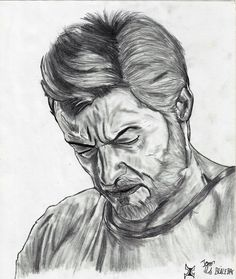 Desenho Logan 2017 Wolverine