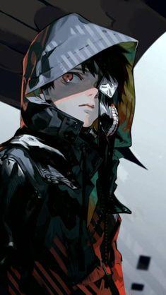 kaneki ken, tokyo ghoul, anime manga wallpaper for android, iphone and whatsapp