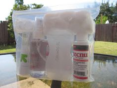 Adventures in Pop-UP GRADED Camping: Tips & Tricks #2: Poison Ivy First Aid Kit