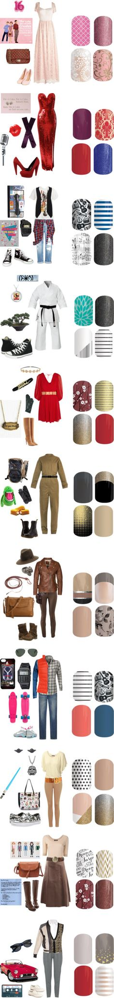 80's Move - Jamberry Nails Game by kspantonjamon on Polyvore featuring beauty, Liquorish, Jane Norman, Dents, Dolce Vita, WallPops, Genetic Denim, Evil Twin, Ben Sherman and CellPowerCases