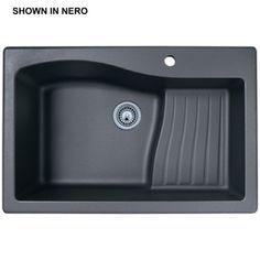 kitchen sink single basin shelf - 361.71