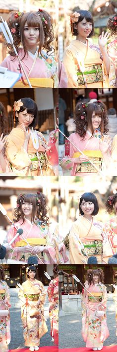 Long time not pinning for this OTP ♥ ♥ ♥ ♥ ~ this couple at UPCOMING AGE CEREMONY ~ they have become adult now ~~ nanamin please take care of sayuringo ~~ even she are older than you, but she still need your protection since she's sometime act way more younger than you ~ i know you love sayuringo XD and you know sayuringo love you so much ~ she always jealous when you with other girl ♥ ♥ ♥ ♥ ♥ ♥ ♥ happy adult the best otp ever (=´∇`=) ♥ ♥ ♥ ♥ ♥ ♥