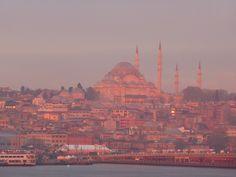 Sunrise over Istanbul, Turkey