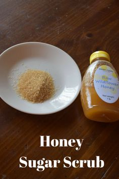 Honey Sugar Scrub #diy #naturalbeauty #beauty #scrub #spa @godschicki