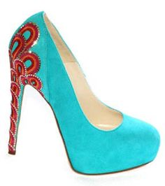 Brian Atwood resort 2012. I love this color combo