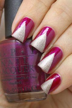 Nude and White Gradient | grape fizz nails | Bloglovin