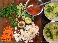 Buffalo Chicken Salad #glutenfree #caseinfree
