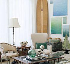 Custom Beachy Living Room Ideas Ideas