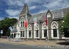 The Canterbury Museum, Botanic Gardens Christchurch.