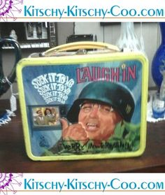Laugh-in lunch box - Sock it to me lol