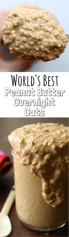 This Peanut Butter Overnight Oats Recipe is a great healthy breakfast idea! Plus, these oats in a jar are easy to make, and packed with protein. Great for Weight Watchers too.