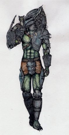 Predator's kitty by KristyBarka Alien Vs Predator, Predator Cosplay, Wolf Predator, Predator Alien, Apex Predator, Invader Zim Characters, Creepy Cat, Alien Concept Art, Creature Drawings