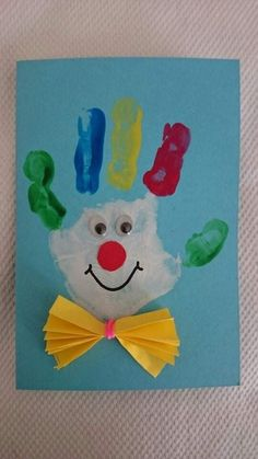 Kids Crafts, Clown Crafts, Carnival Crafts, Halloween Crafts For Toddlers, Daycare Crafts, Winter Crafts For Kids, Baby Crafts, Summer Crafts, Toddler Crafts