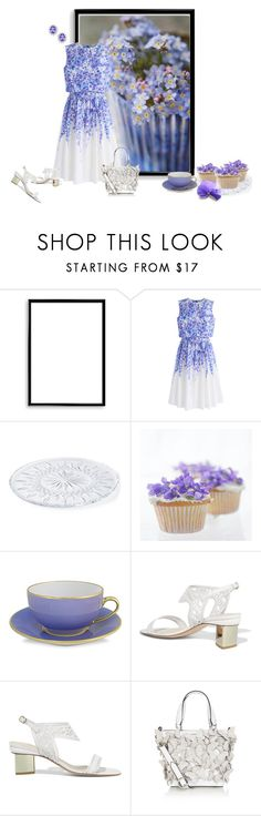 """""""Untitled #1580"""" by milliemarie ❤ liked on Polyvore featuring Bomedo, Chicwish, Waterford, WALL, Nicholas Kirkwood and Karen Millen"""