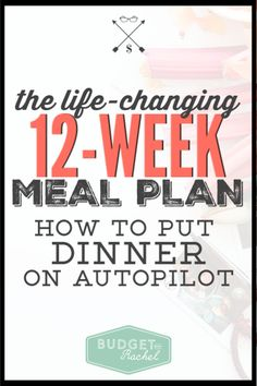 12-week rotating meal plan | meal planning for beginners | lazy girl's guide to meal planning | rotating meal planning | stay within budget with a meal plan #mealplanning #mealplanningmadeeasy #mealplan #budgeting #grocerylist #freeprintable Money Saving Challenge, Money Saving Tips, Money Tips, Save Money On Groceries, Ways To Save Money, Budgeting Finances, Budgeting Tips, Planning Budget, Meal Planning