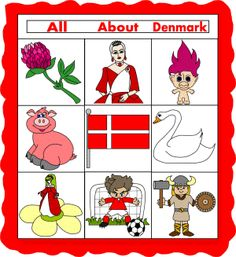 "Denmark Paper Quilt - We did this for our class study on Denmark. The kids made extra ""quilt pieces"" to add to the quilt before we hung it on the wall!"